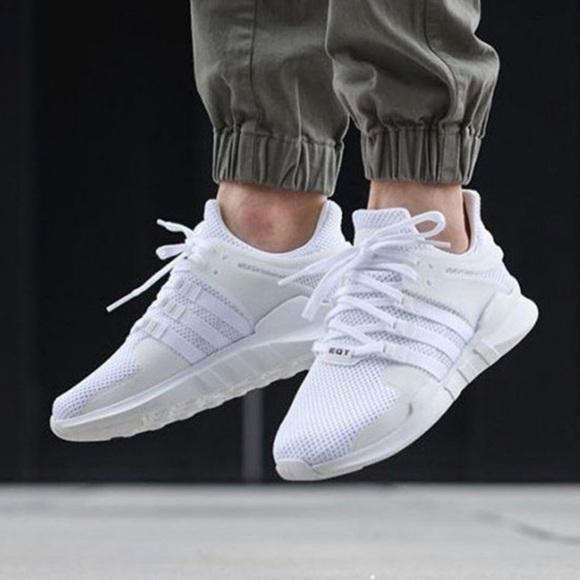 meet 6e06c b1805 adidas Shoes | Eqt Support Adv Triple White | Poshmark